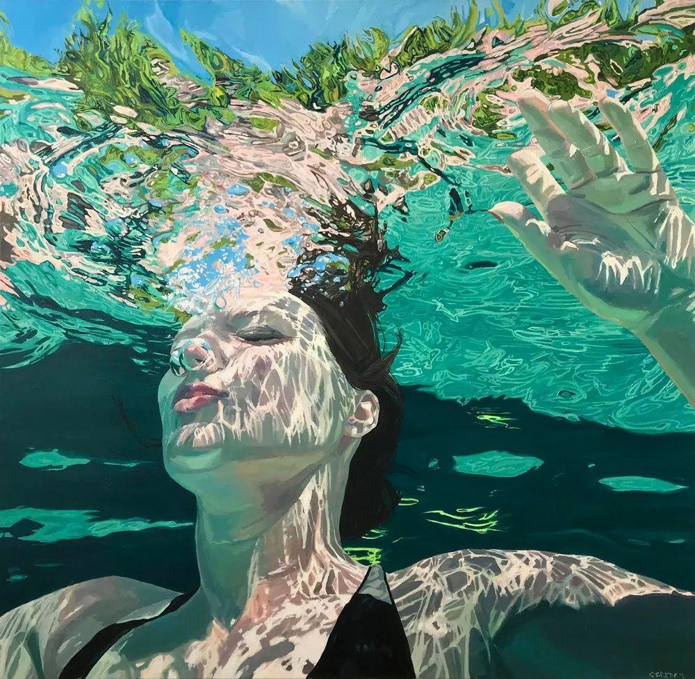 她十四年如一日,只为捕捉水流背面暗涌的光芒插图8