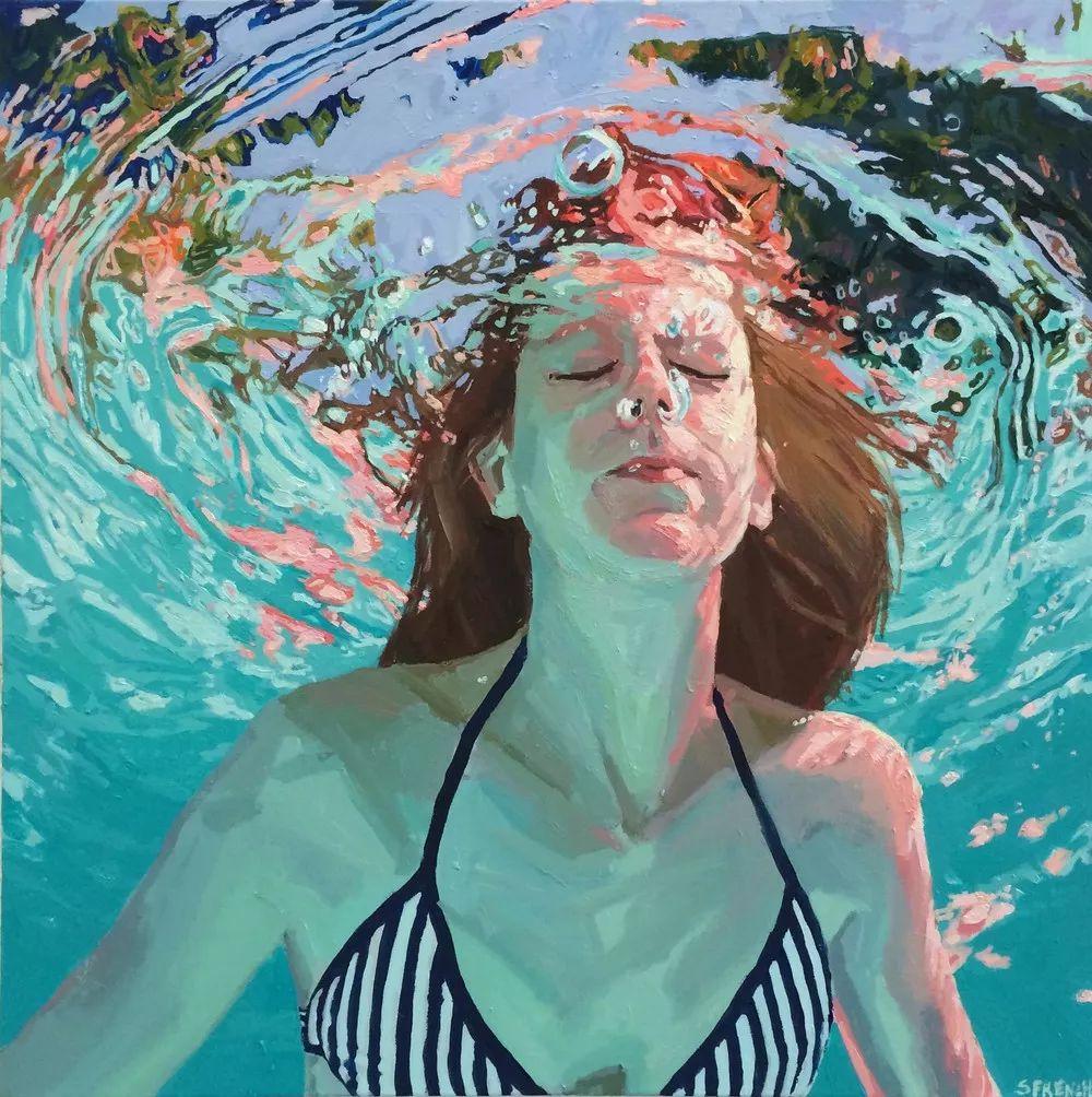 她十四年如一日,只为捕捉水流背面暗涌的光芒插图21