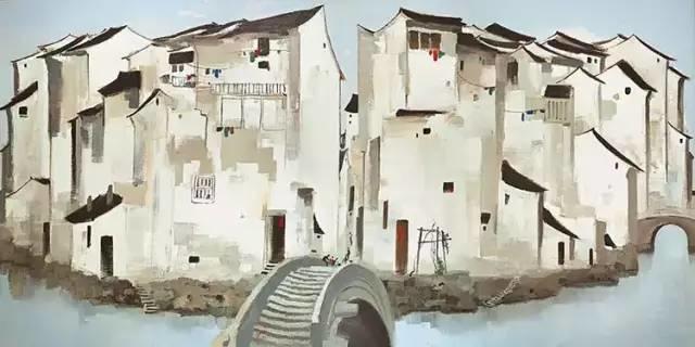 吴冠中百年诞辰丨想念我,就去看我的画吧!插图4