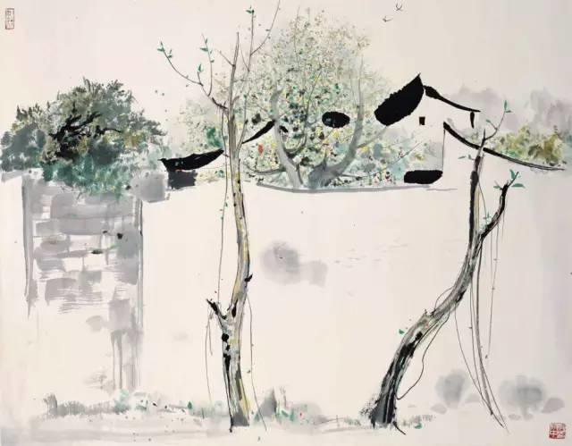 吴冠中百年诞辰丨想念我,就去看我的画吧!插图18