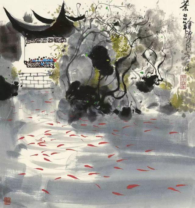 吴冠中百年诞辰丨想念我,就去看我的画吧!插图19
