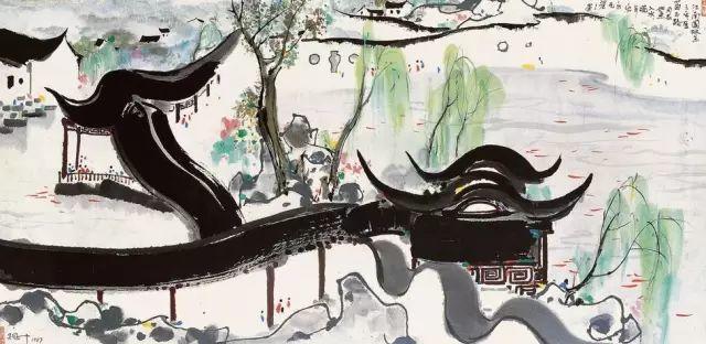 吴冠中百年诞辰丨想念我,就去看我的画吧!插图20