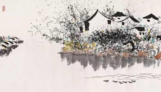 吴冠中百年诞辰丨想念我,就去看我的画吧!插图23