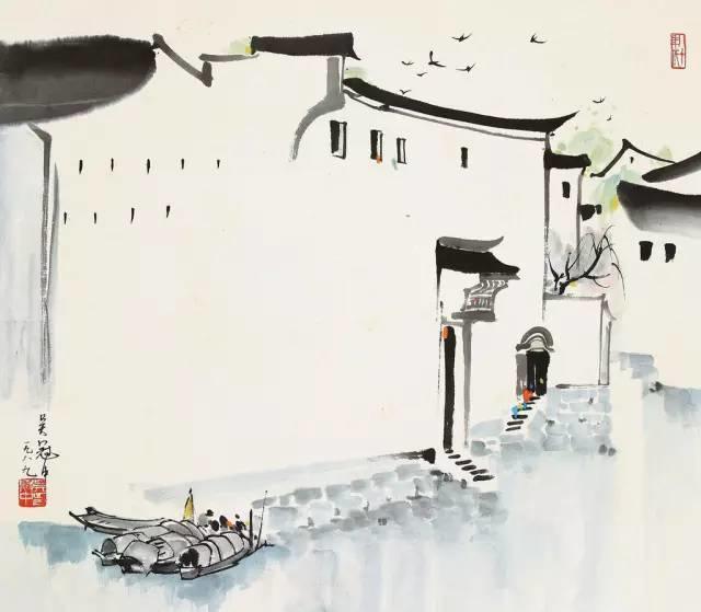 吴冠中百年诞辰丨想念我,就去看我的画吧!插图24