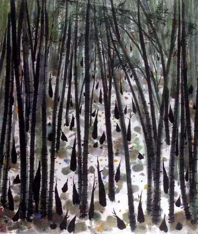吴冠中百年诞辰丨想念我,就去看我的画吧!插图47