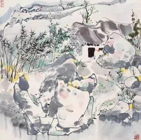 吴冠中百年诞辰丨想念我,就去看我的画吧!插图51