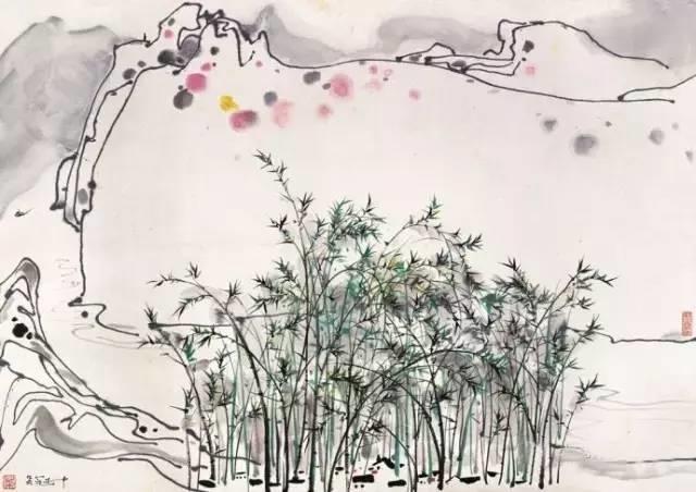 吴冠中百年诞辰丨想念我,就去看我的画吧!插图53