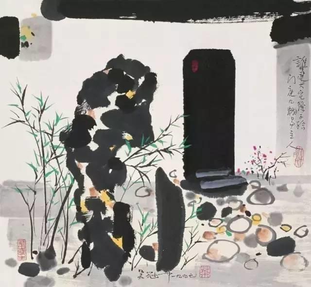 吴冠中百年诞辰丨想念我,就去看我的画吧!插图61