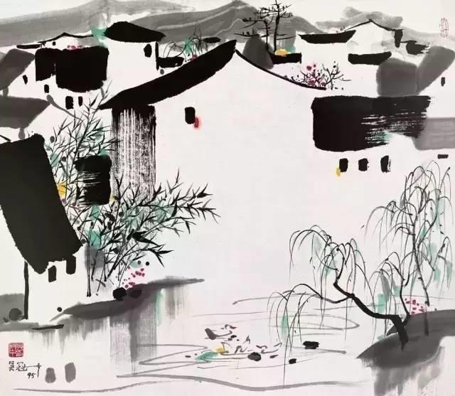 吴冠中百年诞辰丨想念我,就去看我的画吧!插图63