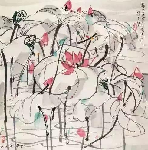 吴冠中百年诞辰丨想念我,就去看我的画吧!插图68