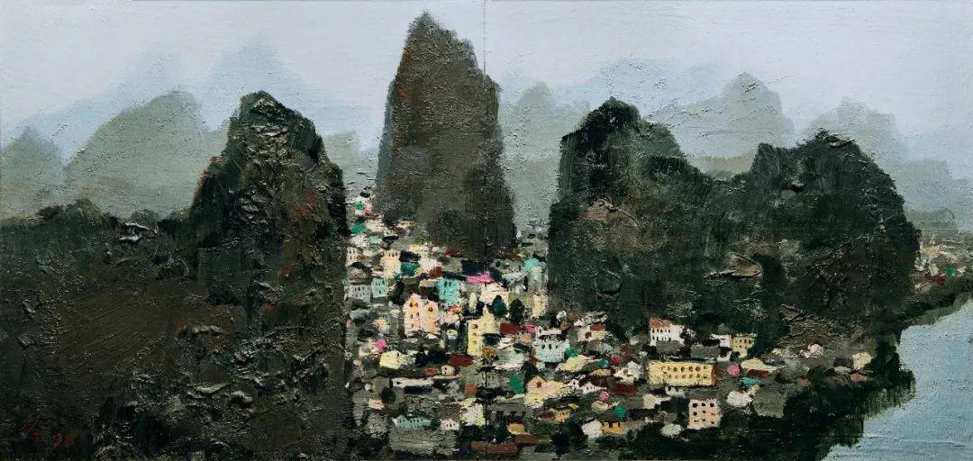 吴冠中百年诞辰丨想念我,就去看我的画吧!插图73