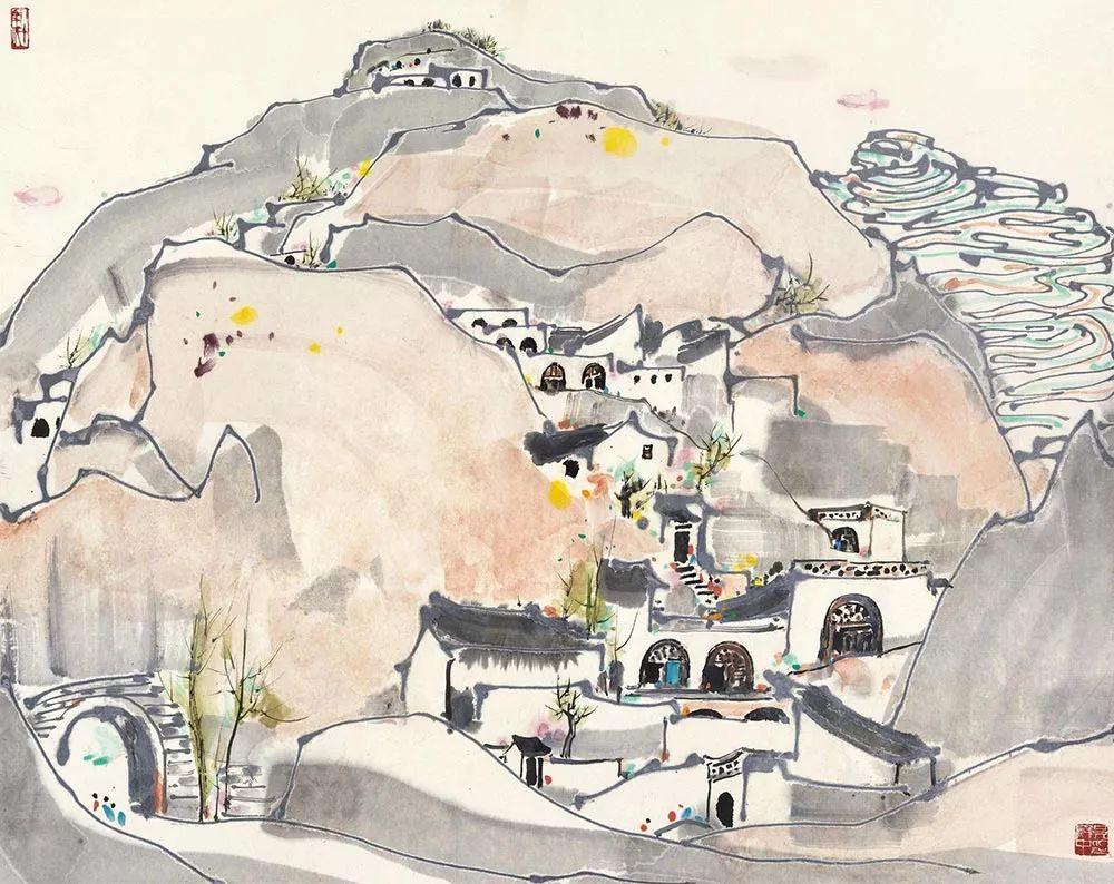 吴冠中百年诞辰丨想念我,就去看我的画吧!插图78