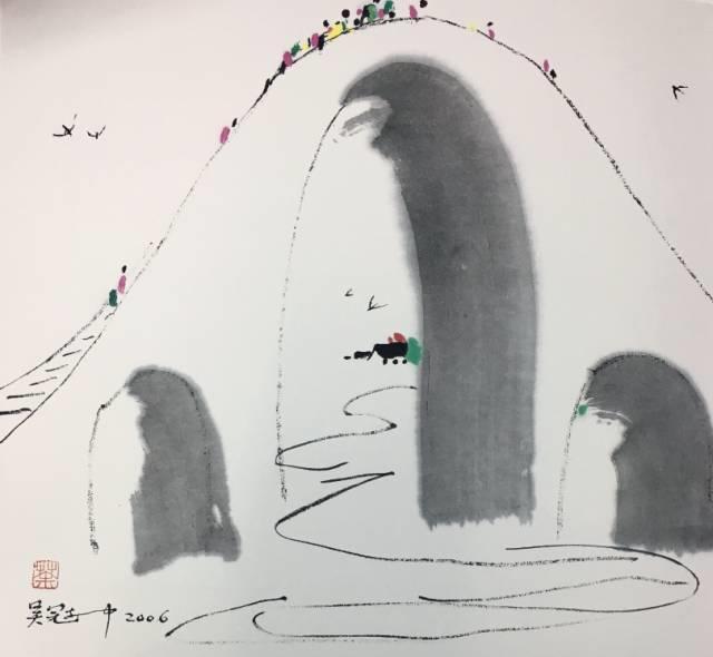 吴冠中百年诞辰丨想念我,就去看我的画吧!插图81