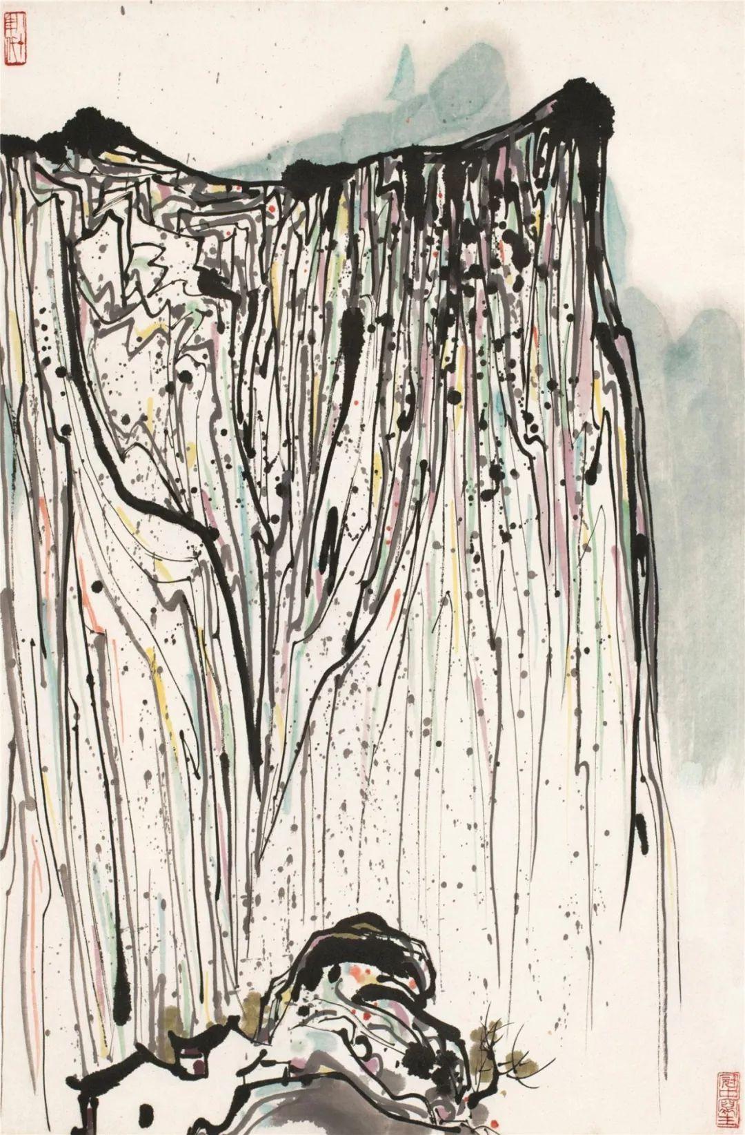 吴冠中百年诞辰丨想念我,就去看我的画吧!插图86