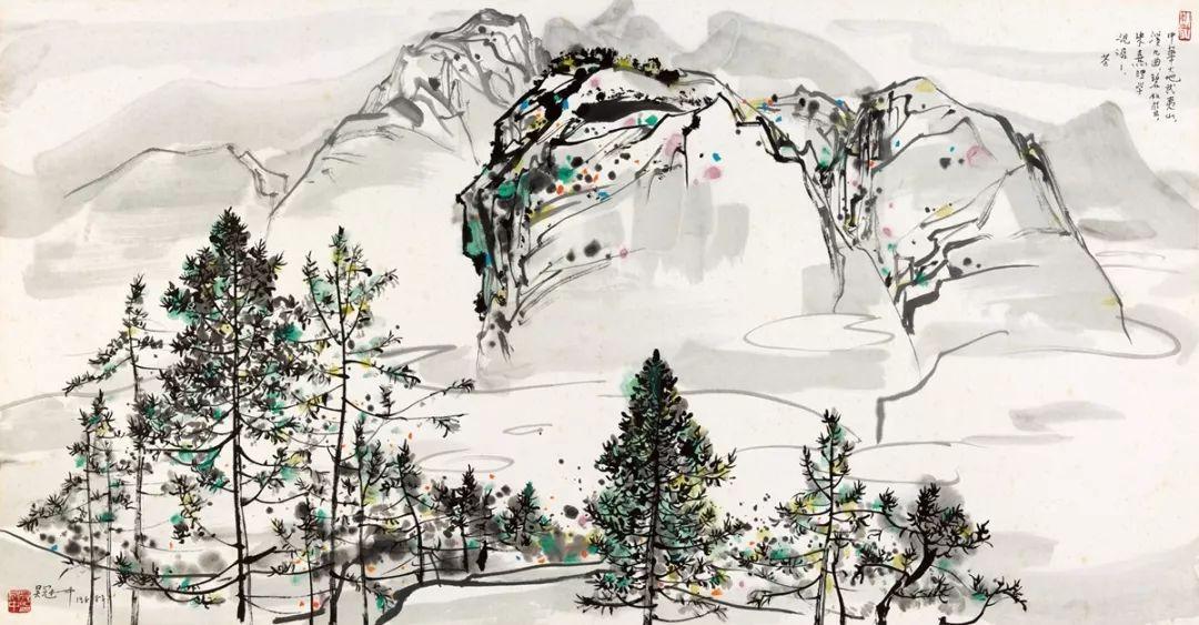 吴冠中百年诞辰丨想念我,就去看我的画吧!插图90