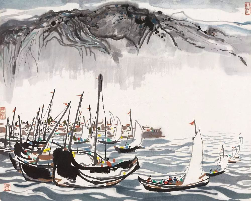 吴冠中百年诞辰丨想念我,就去看我的画吧!插图93