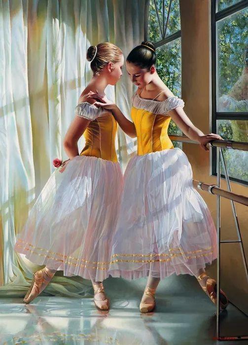 当一位画家爱上了芭蕾舞者,他的画笔也会于画布间翩翩起舞插图1