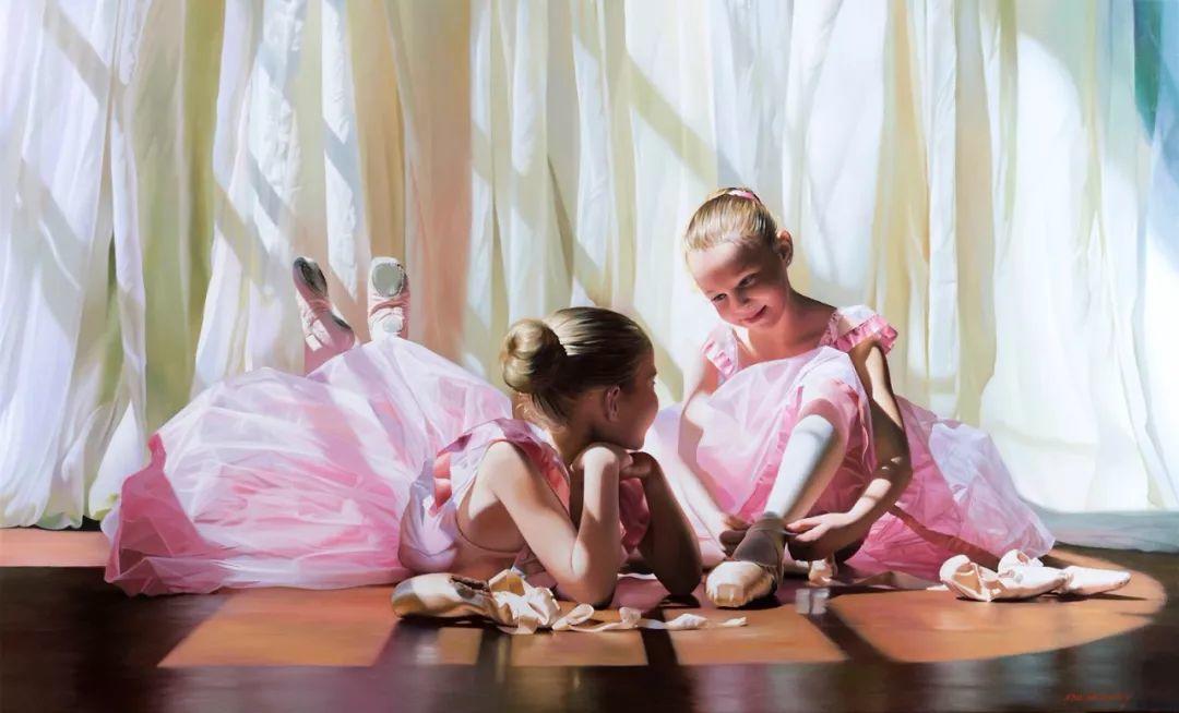 当一位画家爱上了芭蕾舞者,他的画笔也会于画布间翩翩起舞插图3