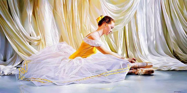 当一位画家爱上了芭蕾舞者,他的画笔也会于画布间翩翩起舞插图9