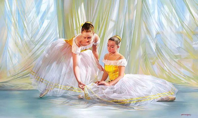 当一位画家爱上了芭蕾舞者,他的画笔也会于画布间翩翩起舞插图11