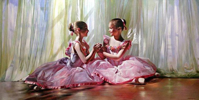 当一位画家爱上了芭蕾舞者,他的画笔也会于画布间翩翩起舞插图13