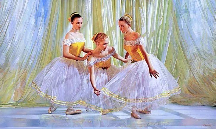 当一位画家爱上了芭蕾舞者,他的画笔也会于画布间翩翩起舞插图23