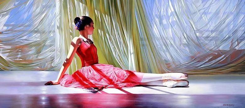 当一位画家爱上了芭蕾舞者,他的画笔也会于画布间翩翩起舞插图33