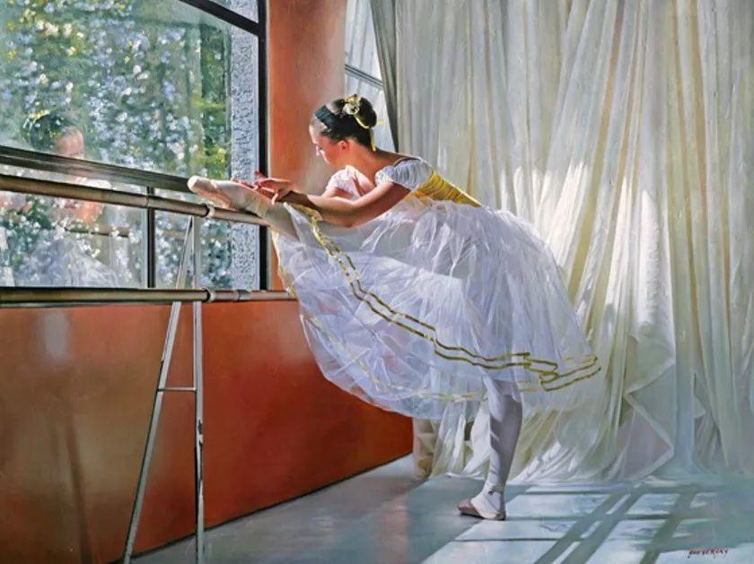 当一位画家爱上了芭蕾舞者,他的画笔也会于画布间翩翩起舞插图47