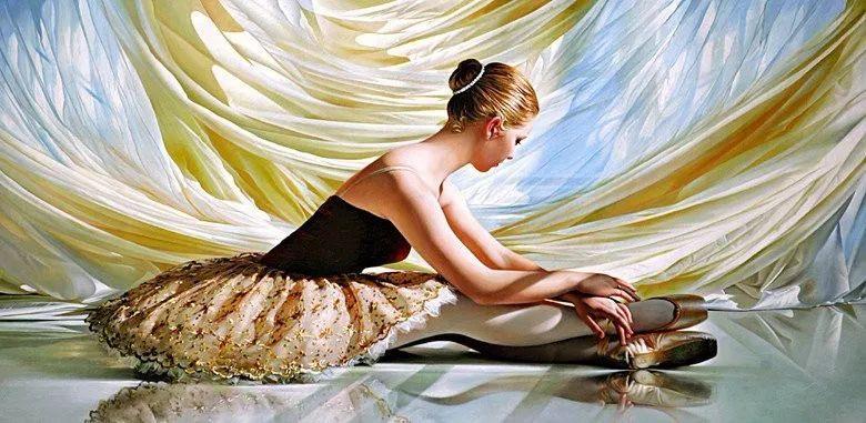当一位画家爱上了芭蕾舞者,他的画笔也会于画布间翩翩起舞插图49