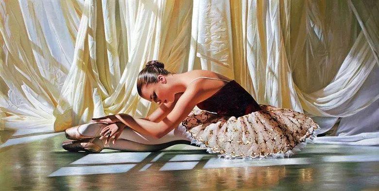 当一位画家爱上了芭蕾舞者,他的画笔也会于画布间翩翩起舞插图51