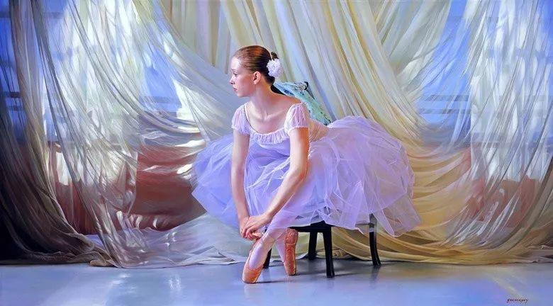 当一位画家爱上了芭蕾舞者,他的画笔也会于画布间翩翩起舞插图55