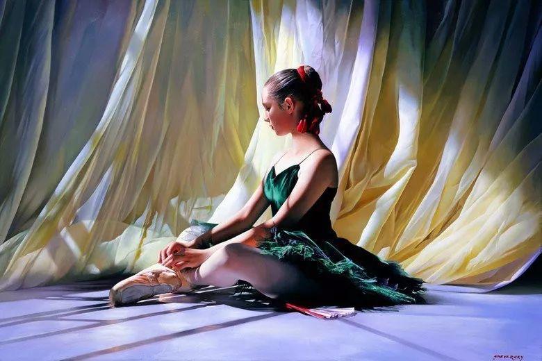 当一位画家爱上了芭蕾舞者,他的画笔也会于画布间翩翩起舞插图57