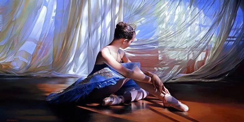 当一位画家爱上了芭蕾舞者,他的画笔也会于画布间翩翩起舞插图61