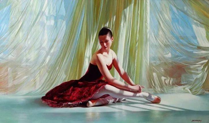 当一位画家爱上了芭蕾舞者,他的画笔也会于画布间翩翩起舞插图63