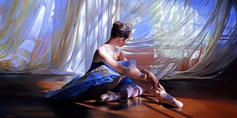 当一位画家爱上了芭蕾舞者,他的画笔也会于画布间翩翩起舞插图69
