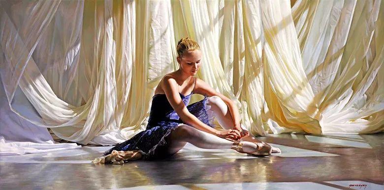 当一位画家爱上了芭蕾舞者,他的画笔也会于画布间翩翩起舞插图71