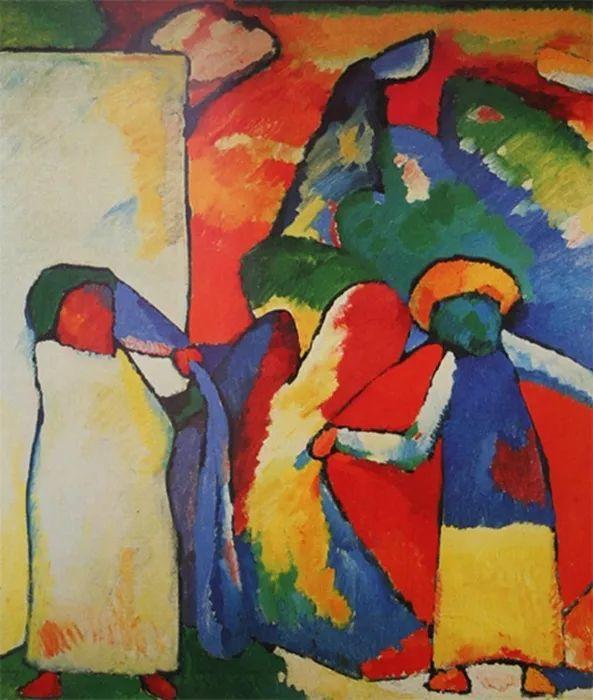 现代抽象绘画的创始人——俄罗斯康定斯基插图1