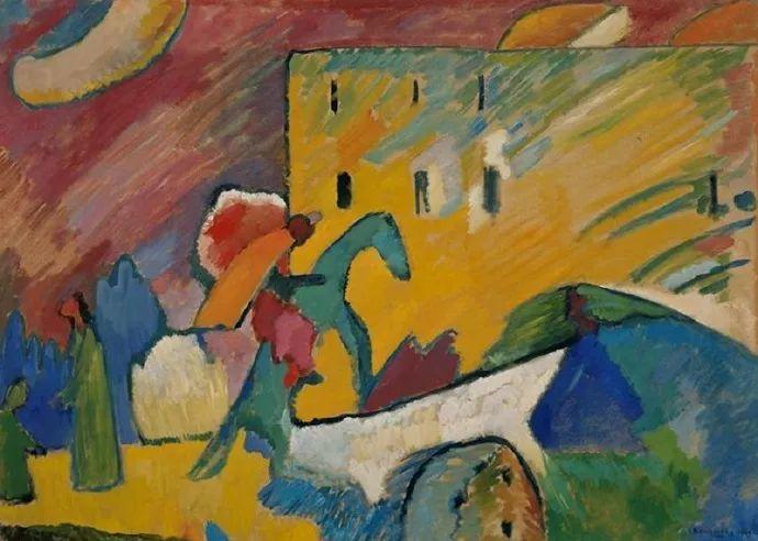 现代抽象绘画的创始人——俄罗斯康定斯基插图3