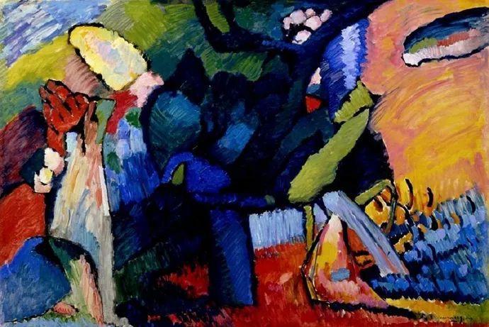现代抽象绘画的创始人——俄罗斯康定斯基插图5