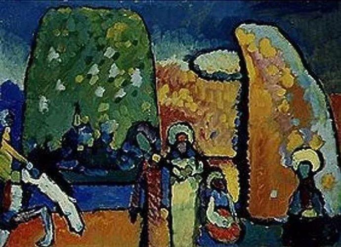 现代抽象绘画的创始人——俄罗斯康定斯基插图7
