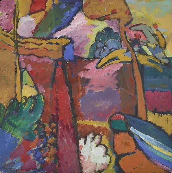 现代抽象绘画的创始人——俄罗斯康定斯基插图9