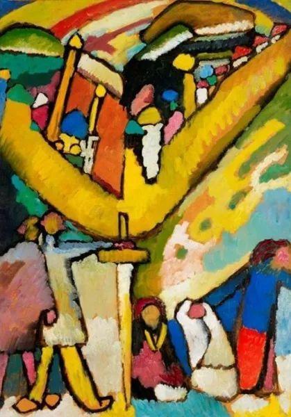 现代抽象绘画的创始人——俄罗斯康定斯基插图13