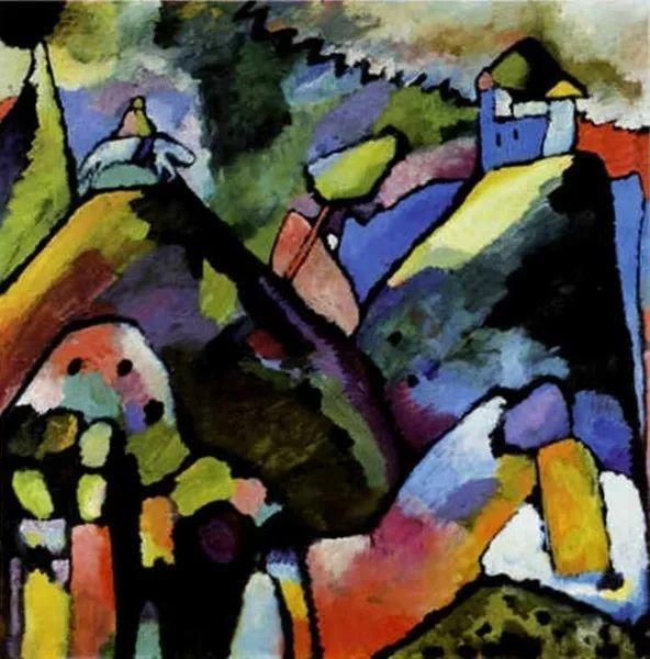 现代抽象绘画的创始人——俄罗斯康定斯基插图15