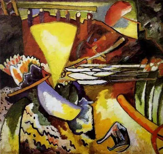 现代抽象绘画的创始人——俄罗斯康定斯基插图19