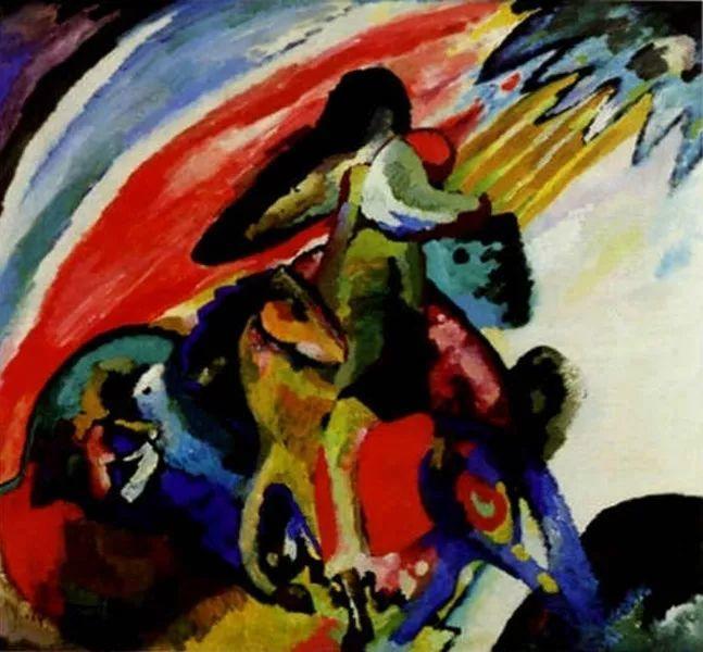 现代抽象绘画的创始人——俄罗斯康定斯基插图21