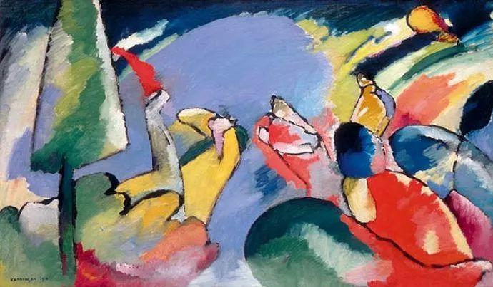 现代抽象绘画的创始人——俄罗斯康定斯基插图23