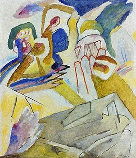 现代抽象绘画的创始人——俄罗斯康定斯基插图25