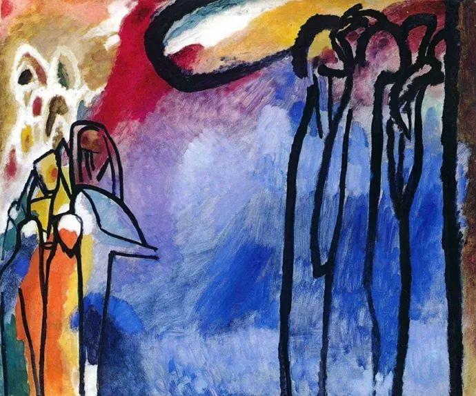 现代抽象绘画的创始人——俄罗斯康定斯基插图27