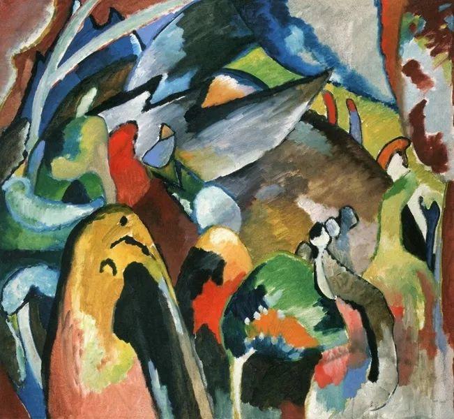 现代抽象绘画的创始人——俄罗斯康定斯基插图29