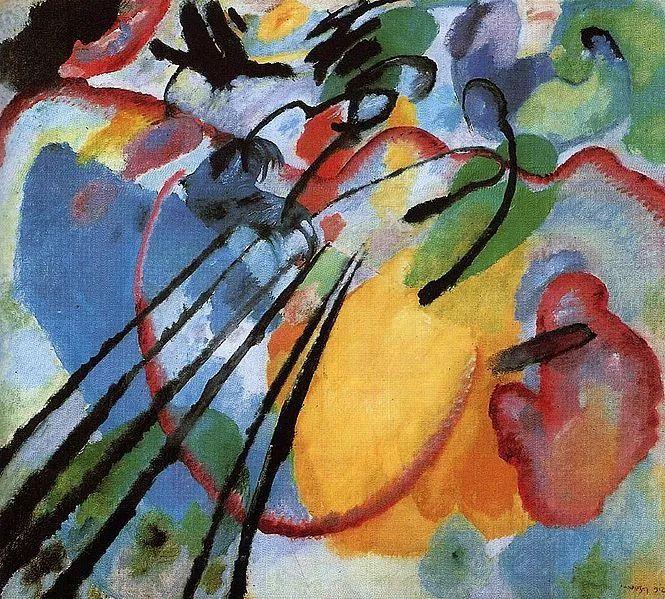 现代抽象绘画的创始人——俄罗斯康定斯基插图37